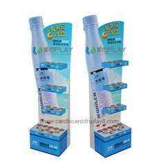 Water Color Pens Shelf Cardboard Displays, Cardboard Display Rack USA