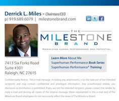 Derrick Miles Contact Information