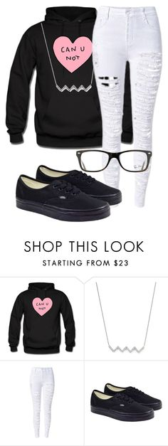 """Shopping In Savannah"" by curlyhead03 ❤ liked on Polyvore featuring KC Designs, Vans and Ray-Ban"