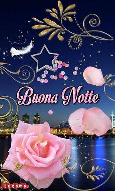 Italian Greetings, Roses, Neon Signs, Night, Romantic Quotes, Imagenes De Amor, Photo Illustration, Pink, Rose