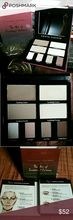 Kevin Aucoin The Contour Book - Volume II Kevin Aucoin The Contour Book - Volume II. Top two shades were swatched (darker shade twice, lighter shade once), but the other colors are new/untouched. Sephora Makeup