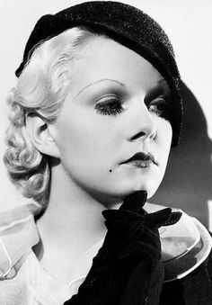 Jean Harlow. A George Vreeland Hill post.