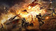 halo battle scenes