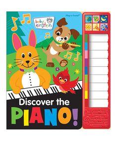 Look what I found on #zulily! Baby Einstein: Discover the Piano Board Book #zulilyfinds