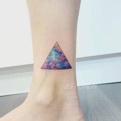 Cosmic Triangle by jeffchewtattoo