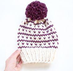 Breckenridge Fair Isle Hat Knitting pattern by Kathleen Jones. Find this pattern and more inspiration at LoveKnitting. Fair Isle Knitting, Loom Knitting, Baby Knitting, Knitting Patterns, Crochet Patterns, Hat Patterns, Yarn Projects, Knitting Projects, Fair Isle Pattern