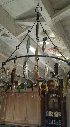 Fun with fishing lures (and a safe way to display)