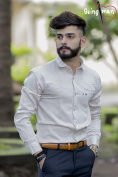 Mens Formal Shirt with Regular Collar and Full Sleeve Formal Dress For Boys, Formal Men Outfit, Formal Shirts For Men, Casual Formal Dresses, Cotton Shirts For Men, Casual Shirts, Men Shirts, Mens Office Fashion, Mens Fashion Suits