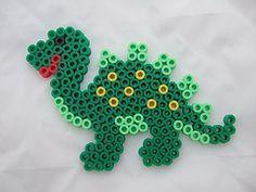 hama beads dinosaur pattern - Google Search