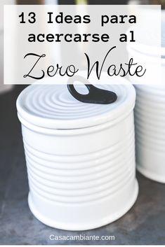 Estas son 13 ideas excelentes para reducir desechos y aprender sobre el movimiento Zero Waste o Cero Desechos. Recycling Process, Biodegradable Plastic, Circular Economy, Green Life, Cleaning Solutions, Sustainable Living, Natural Living, Zero Waste, Home Organization