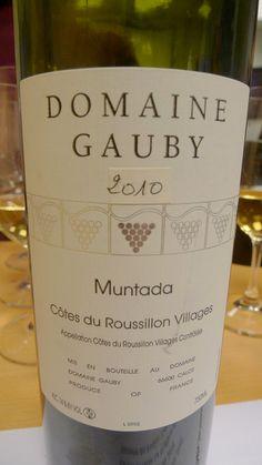 Domaine Gauby Côtes du Roussillon Villages La Muntada-I have 1998 Muntada in my rack