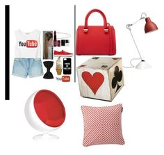 """""""Untitled #106"""" by nibbby ❤ liked on Polyvore featuring Victoria Beckham, Lexington and Hearts Attic"""