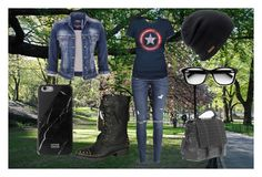 """""""Casual Day"""" by bikergal98 on Polyvore featuring Avenue, H&M, maurices, RK New York, Coal and Native Union"""