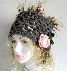 Dreadlock Headband Knitted Headwrap Tube Hat Dreads