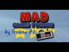 Mad Games Tycoon my first milion and fifa - YouTube