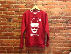 Heisenberg Santa Claus Sweatshirt | Breaking Bad Gift | Heisenberg Sweater