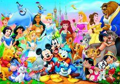 Die wundervolle Welt von Disney-Puzzle, 1000