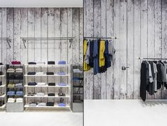 Стильный малобюджетный дизайн магазина модной одежды