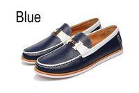 Alta calidad 2014 de grano completo 100% cuero genuino del zurriago hombres de ocio conducción zapatos mocasines, Mens Handsewn Gommino Sneakers