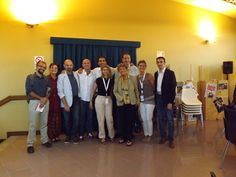 this is a group photo of the great Dacia Maraini with F2R's organizators