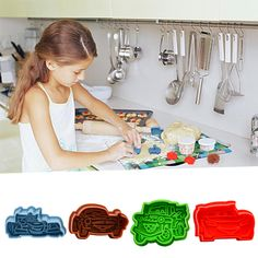 Set 5 Clay Pottery Fondant Sugarcraft Kuchen Sculpting Former Formwerkzeuge