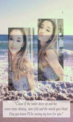 Ariana Grande lockscreen ♡