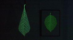 樹葉三種魔幻姿態,展現自然之美的靈魂燈具SOULeaf | 大人物
