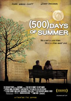 "(500) Days of Summer ""Most days of the year are unremarkable. They begin, and they end, with no lasting memories made in between. Most days have no impact on the course of a life. May 23rd was a Wednesday."""