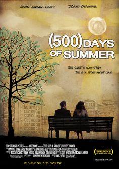 500 Days of Summer - Zooey Deschanel, Joseph Gordon -Levitt