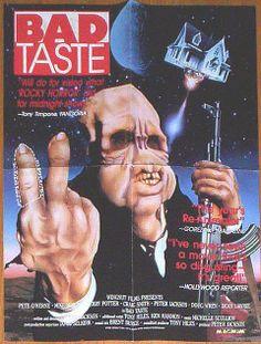 Bad Taste, 1987 - USA poster