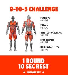 Try this no equipment workout challenge for building muscle at home.