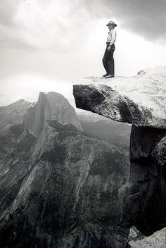 Ansel Adams, Half Dome in the distance, Yosemite National Park. Black And White Landscape, Black N White Images, Ansel Adams Photography, Nature Photography, Fishing Photography, Photography Ideas, Portrait Photography, Famous Photographers, Landscape Photographers