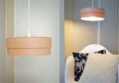 Wood Veneer Light Pendant