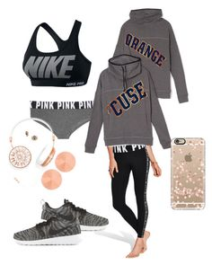 """""""Cuse"""" by libbym24 on Polyvore featuring Victoria's Secret, BaubleBar, NIKE, Casetify, women's clothing, women's fashion, women, female, woman and misses"""