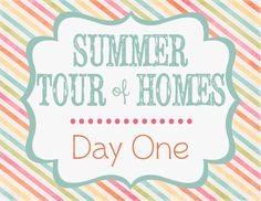 The Shabby Creek Cottage | Decorating | Craft Ideas | DIY: Summer Tour of Homes Day One