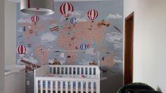 Papel de Parede Mapa Mundi, decoração sob medida feita para você.