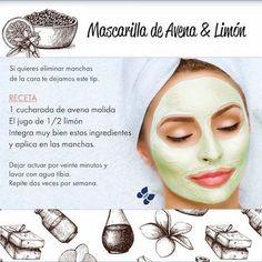 ANAMODAEIDEAS2.BLOGSPOT.COM.ES: MASCARILLA DE AVENA Y LIMON PARA MANCHAS EN LA CA...