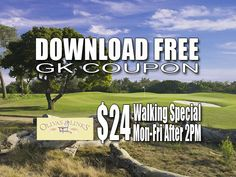 GK Coupon Olivas Links Golf Tee Time Special