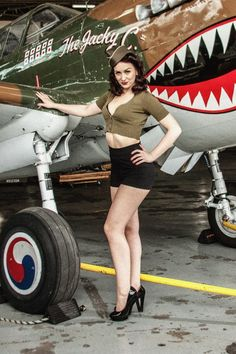 WW2 pinup shoot