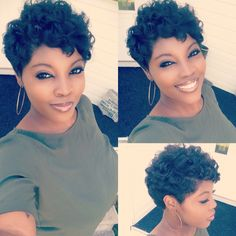 human hair wigs for white women Short Sassy Hair, Cute Hairstyles For Short Hair, Short Hair Cuts, Wig Hairstyles, Curly Hair Styles, Natural Hair Styles, Bob Hairstyle, Medium Black Hairstyles, Haircuts