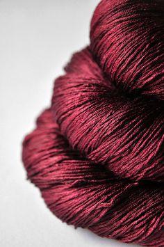 Fallen soul - lace weight silk yarn