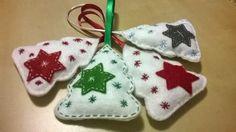 Terčiny radosti...: Vánoční ozdoby z filcu