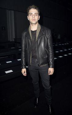 Style Watch: Xavier Dolan at Paris Fashion Week image Xavier Dolan Moncler Gamme Rouge