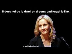 "Joanne ""Jo"" Rowling (born 31 July 1965), pen name J. K. Rowling, is a British novelist, best known as the author of the Harry Potter fantasy series. Watch her quotes below..."