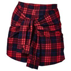 On aime bien le design de cette jupe mini! 28,60€ ici: http://stylefru.it/s278957 #rouge #etudiante