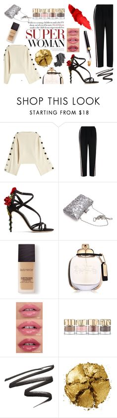 """""""ROSES ARE MINE..."""" by mer084 ❤ liked on Polyvore featuring Petar Petrov, Whistles, Dolce&Gabbana, Laura Mercier, Coach, Smith & Cult, Pat McGrath and Bobbi Brown Cosmetics"""