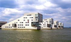 The Sphinx Housing Complex - Neutelings Riedijk Architects - Gooimeer Lake - Huizen
