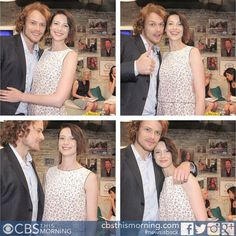 Oh you guys... so much love 4 u RT @caitrionambalfe: Hanging out with @Heughan @cbsthismorning @Outlander_Starz pic.twitter.com/boFgmrab51