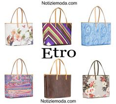 Accessori Etro borse primavera estate donna