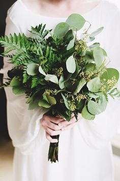 Pure Wow Summer 2017 Trends via @PureWow-GREENERY > FLOWERS  Spring showers bring May flowers, but this season, we're opting for green-only ferns and fronds, which make a lush statement while totally hitting the Scandi-minimalist look that's also of-the-moment. See our take @WorshipLuxury
